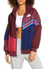 Nike Women's Sportswear Full Zip Fleece Track Jacket (Multicolor, M)