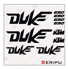 X10 ADHESIVOS KIT KTM DUKE 690-200-125 RECORTE ENDURO STICKER DECAL MOTO