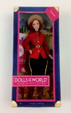 BARBIE PASSPORT DOLLS OF THE WORLD CANADA PINK LABEL MOUNTIE 2012 UNOPENED