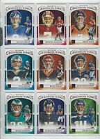 2019 DONRUSS ROOKIE GRIDIRON KINGS COMPLETE YOUR SET  (19 DFRGK)