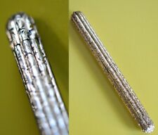 W.S.HICKS BAMBOO shape GOLD pl Antique PROPELLING Mechanical Pencil pen tiffany
