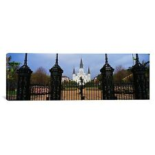 St. Louis Cathedral, New Orleans, Louisiana Photographic Print on Canvas, 48x16