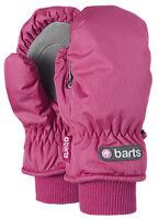 Barts Nylon Kids Ski Mittens, Fuchsia