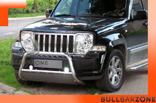 JEEP CHEROKEE KK 2008+ TUBO PROTEZIONE MEDIUM BULL BAR INOX STAINLESS STEEL