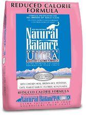 Natural Balance Dry Cat Food, Reduced Calorie Formula, 15 Pound Bag , New, Free