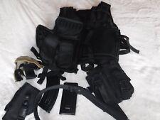 Pre Owned Large Air Soft Tactical Gear Chest Gear Belt Gun Carrier Holster