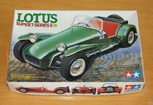 Tamiya 1/24 Lotus Super 7 Series II 1500 Cosworth Model Kit No 24046 - Unused