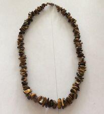 CAT'S EYE CHRYSOBERYL NECKLACE- polished beads - 63.6 g - OBO