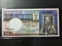 Angola, 50 Escudos, 1973, KM:105a, 1973-06-10, UNCIRCULATED and SHARP!!