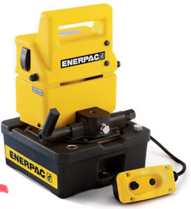 ENERPAC PUJ-1200B High Pressure Hydraulic  Electric Pump 10,000PSI NEW Free Ship