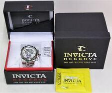 BNIB INVICTA 16309 Reserve Venom Twisted Metal Dial Swiss Chronograph Mens Watch
