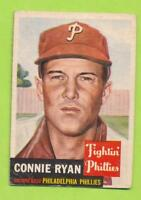 1953 Topps - Connie Ryan (#102)  Philadelphia Phillies