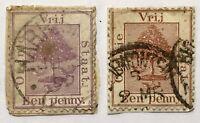 Antique 19th Century International Stamps Vrij Orange Free State South Africa