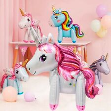 Giant Rainbow Unicorn Balloons Foil Balloons Baby Shower Birthday Party Decor
