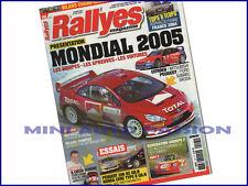 Magazine Rallye Magazine N°145 - Fevrier 2005