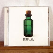 So They Say Antidote for Iroy CD Album 2006 Fearless