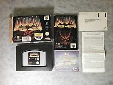 DOOM 64 FPS ID SOFTWARE NINTENDO 64 N64 PAL ITALIANO GIG BOXATO BOXED COMPLETO