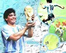 AFFICHES MARADONA NAPOLI ARGENTINA SOCCER FOOTBALL BIG #1