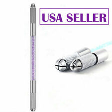 Microblading 3D Eyebrow Permanent Makeup Tools Manual Tattoo Pen Pencil Purple