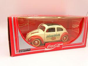 Solido 1/18 - VW Coccinelle Beetle Coca Cola 1958