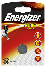10 x Energizer Batterie CR2016 Lithium 3V Knopfbatterie CR 2016 Battery NEW
