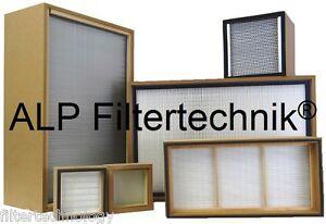 Hepa Filter  610 x 484 x 90mm H14 Filter Hepafilter Filtro Feinfilter Laserrauch