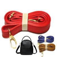 Accessories Bag Strap Handles PU Leather Belt Shoulder 140cm Purse Multi Color