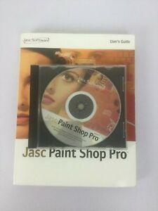 Jasc Paint Shop Pro  6 Disc Book Windows Vintage Software Animation Shop 2