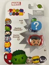 Marvel Tsum Tsum 3 pack Series 2 Doctor Strange Mystery Hulk  New
