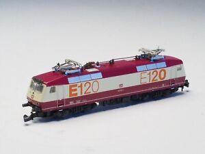 Marklin Z-scale class BR E120 General Purpose Electric locomotive DB 5 pole