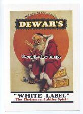 ad0827 - Dewar's White Label Whisky - Santa's Good List - Modern Advert Postcard