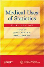 NEW Medical Uses of Statistics