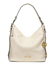 MICHAEL KORS TASCHE BAG BEDFORD BELTED LG CONV SHLDR optic white/weiß