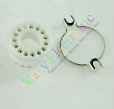 4pc 14PIN ceramics Vacuum TUBE SOCKET for AUDIO tube amp radio DIY parts