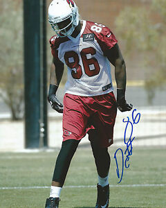 GFA Arizona Cardinals D.C. JEFFERSON Signed 8x10 Photo D3 COA