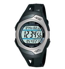 STR300C-1V - Casio, памяти 60-Lap, часы, черный каучук, 4 будильника, 10-летней батареей