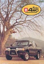 1994 Isuzu Rodeo 4x4 Pickup Truck Brochure Thailand wj4409-7JOU5H