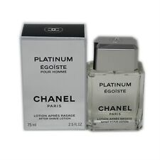 CHANEL PLATINUM EGOISTE POUR HOMME AFTER SHAVE LOTION 75 ML/2.5 FL.OZ. NIB