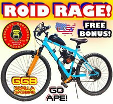 """Roid Rage 80cc Gas Motor Complete Engine With A 26"""" Bike Bicycle Scooter Kit Diy"""