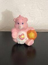 Vintage 1980's Kenner Care Bear Baby Hugs Miniature Ball Mini Diaper Heart PVC