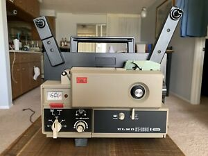 Elmo ST-180E M 2 - Track Super 8 Sound Projector - Excellent Condition
