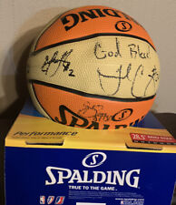 2012 Indiana Fever Team SIGNED WNBA  BASKETBALL Tamika Catchings #24 Douglas