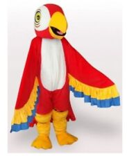 Adult Red Parrot Mascot Costume Suit Festival Party Outfit Cosplay Dress Outfits