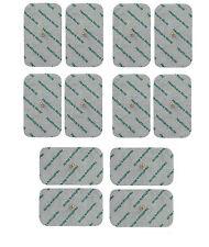 12 grandes électrode stud RTE dizaines plaquettes de Beurer Sanitas machines, des dizaines