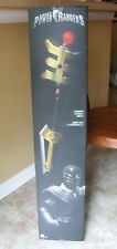 HTF Bandai Power Rangers Zeo Series Golden Power Staff Legacy Collection - NIB