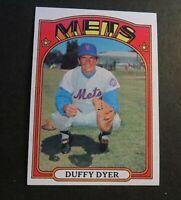 1972 Topps Baseball  #127 Duffy Dyer - Mets