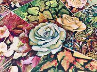 Crepe de Chine Dress Fabric - The Paved Rose - Dress Fabric