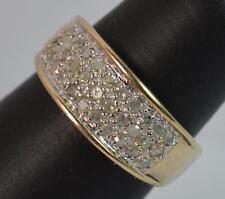 0.50ct Natural Diamond 9 Carat Gold Ladies Band Ring f0103