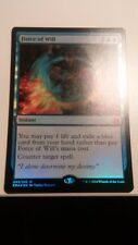Force of Will FOIL x1 Eternal Masters, EMA MYTHIC MAGIC NM UNPLAYED MTG