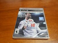 FIFA Soccer 18: Legacy Edition (Sony PlayStation 3, 2017) PS3 BRAND NEW SEALED